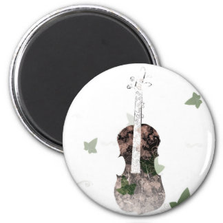 A very beautiful violin magnet