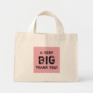 A VERY BIG THANK YOU! MINI TOTE BAG