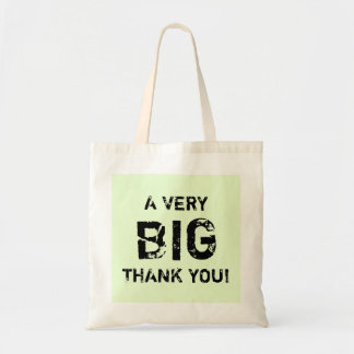 A VERY BIG THANK YOU! TOTE BAG