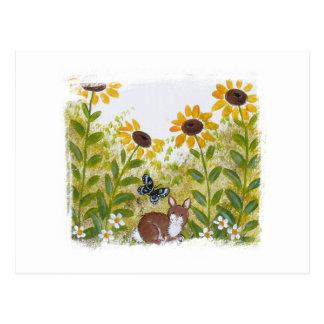 A Very Bunny Pair Postcard