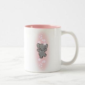 a very clean elephant mug