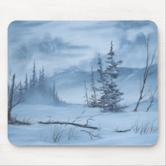 A Very Cold Winter Mousepad
