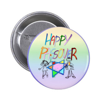 A Very Colorful Passover Button