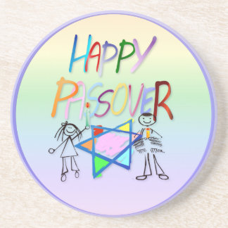 A Very Colorful Passover Coaster