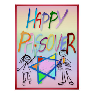 A Very Colorful Passover  Poster