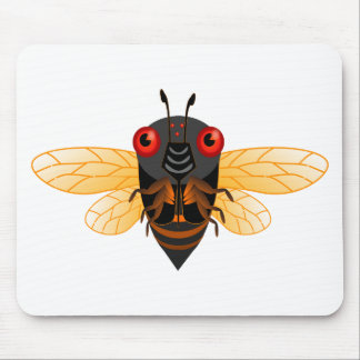 A very cute 17 year cicada mouse pad