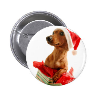 A very Doxie Christmas Pin
