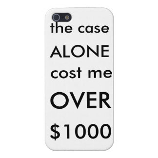 a very expensive case for a very expensive phone