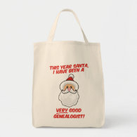 A Very Good Genealogist Tote Bags
