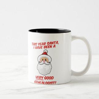 A Very Good Genealogist Two-Tone Coffee Mug