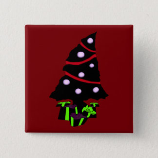 A Very Gothy Christmas Pinback Button