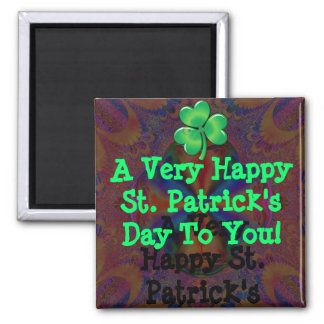 A Very Happy St. Patrick's Day To You! Magnet