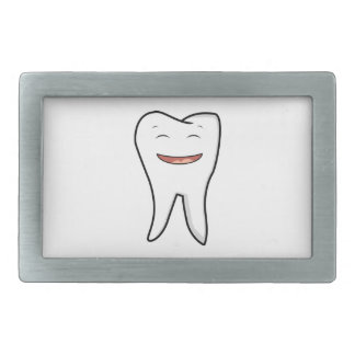 A Very Happy Tooth Belt Buckle