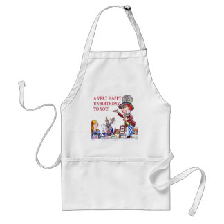 A Very Happy Unbirthday to You! Adult Apron