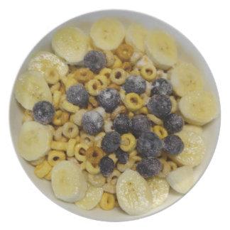 A very healthy breakfast! dinner plate