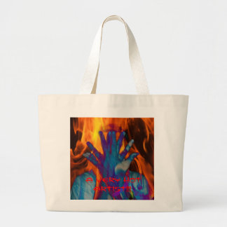 A VERY HOT ARTIST!!! LARGE TOTE BAG
