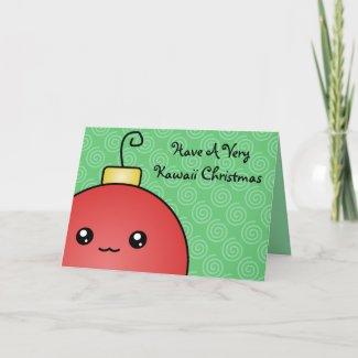 A Very Kawaii Christmas Card card