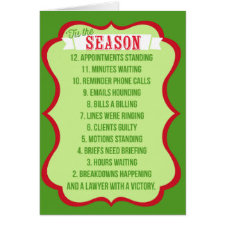 Lawyer Christmas Cards - Invitations, Greeting & Photo Cards | Zazzle