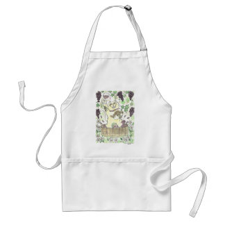 A Very Lucky Vintage Adult Apron
