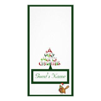 A Very Merry Christmas Card