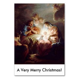 A Very Merry Christmas Custom Table Card