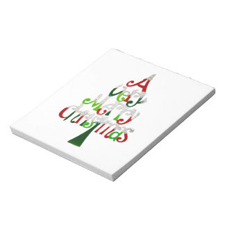 A Very Merry Christmas Gift Collection Notepad