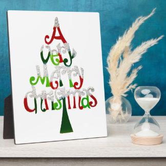 A Very Merry Christmas Gift Collection Photo Plaques