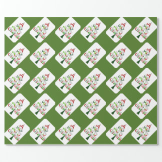 A Very Merry Christmas Gift Collection Wrapping Paper