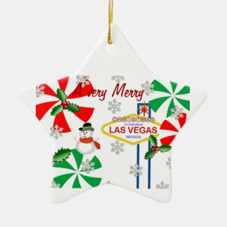 A very Merry Christmas In Las Vegas Ornament