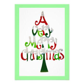 A Very Merry Christmas Invitation