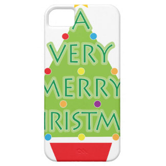 a very merry christmas iPhone SE/5/5s case