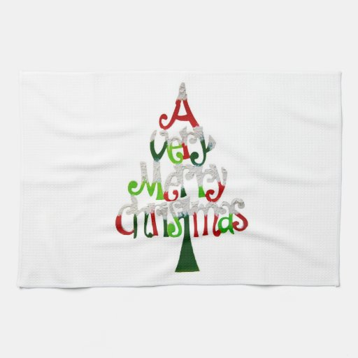 A Very Merry Christmas Kitchen Towels