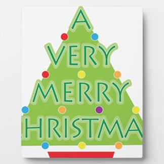 a very merry christmas plaque