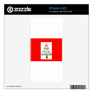 A very merry christmas skin for iPhone 4S
