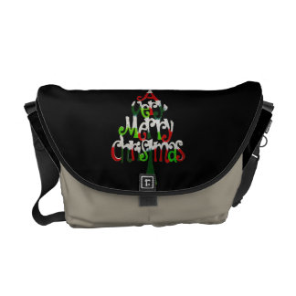 A Very Merry Christmas Tree Courier Bags