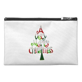 A Very Merry Christmas Tree Travel Accessory Bag