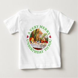 A Very Merry Unbirthday to You! Baby T-Shirt