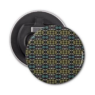 a very nice geometric pattern bottle opener