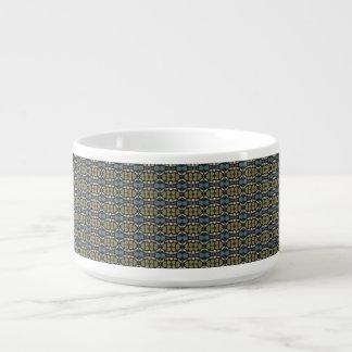 a very nice geometric pattern bowl