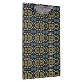 a very nice geometric pattern clipboard