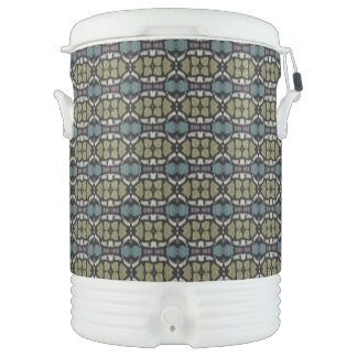 a very nice geometric pattern cooler
