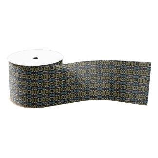 a very nice geometric pattern grosgrain ribbon