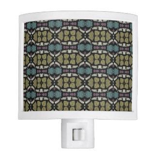 a very nice geometric pattern night light