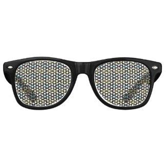 a very nice geometric pattern retro sunglasses