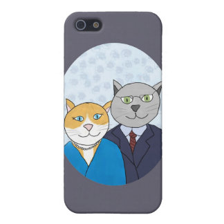 A Very Nice Kitty Couple iPhone 5 Case