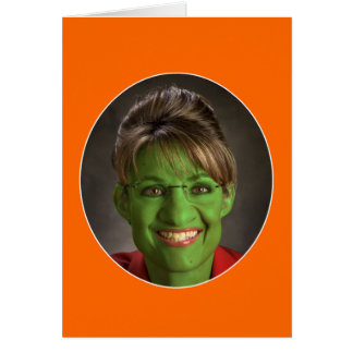 A Very Palin Halloween! Card