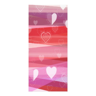 A Very Pink Valentine Rack Card