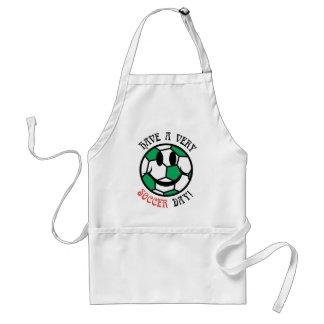 A Very Soccer Day! Aprons
