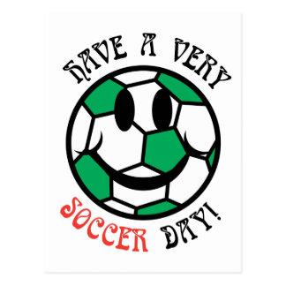 A Very Soccer Day! Postcards