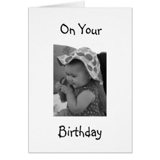 A VERY SPECIAL **BABY GIRL'S** BIRTHDAY CARD